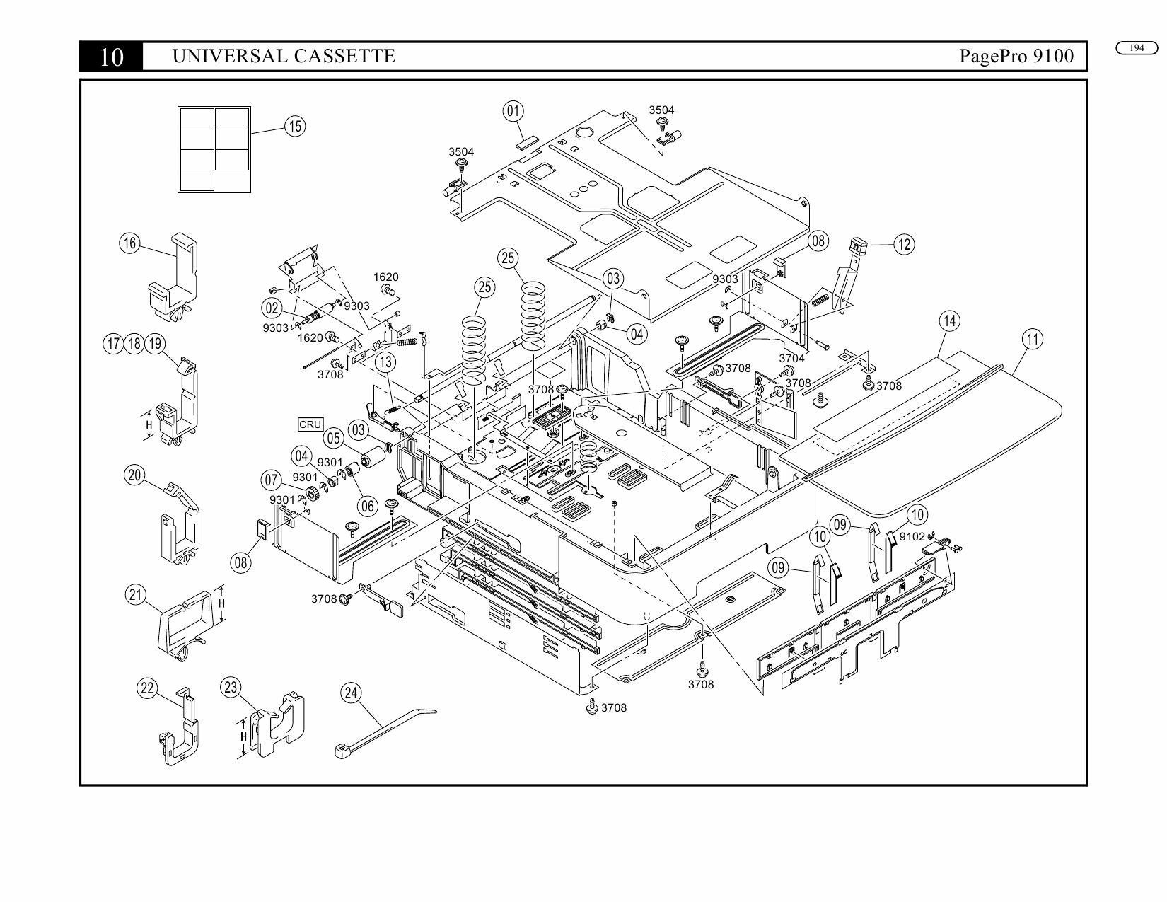 Konica-Minolta pagepro 9100 Parts Manual-4